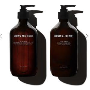 Grown Alchemist Hand Wash and Lotion Set